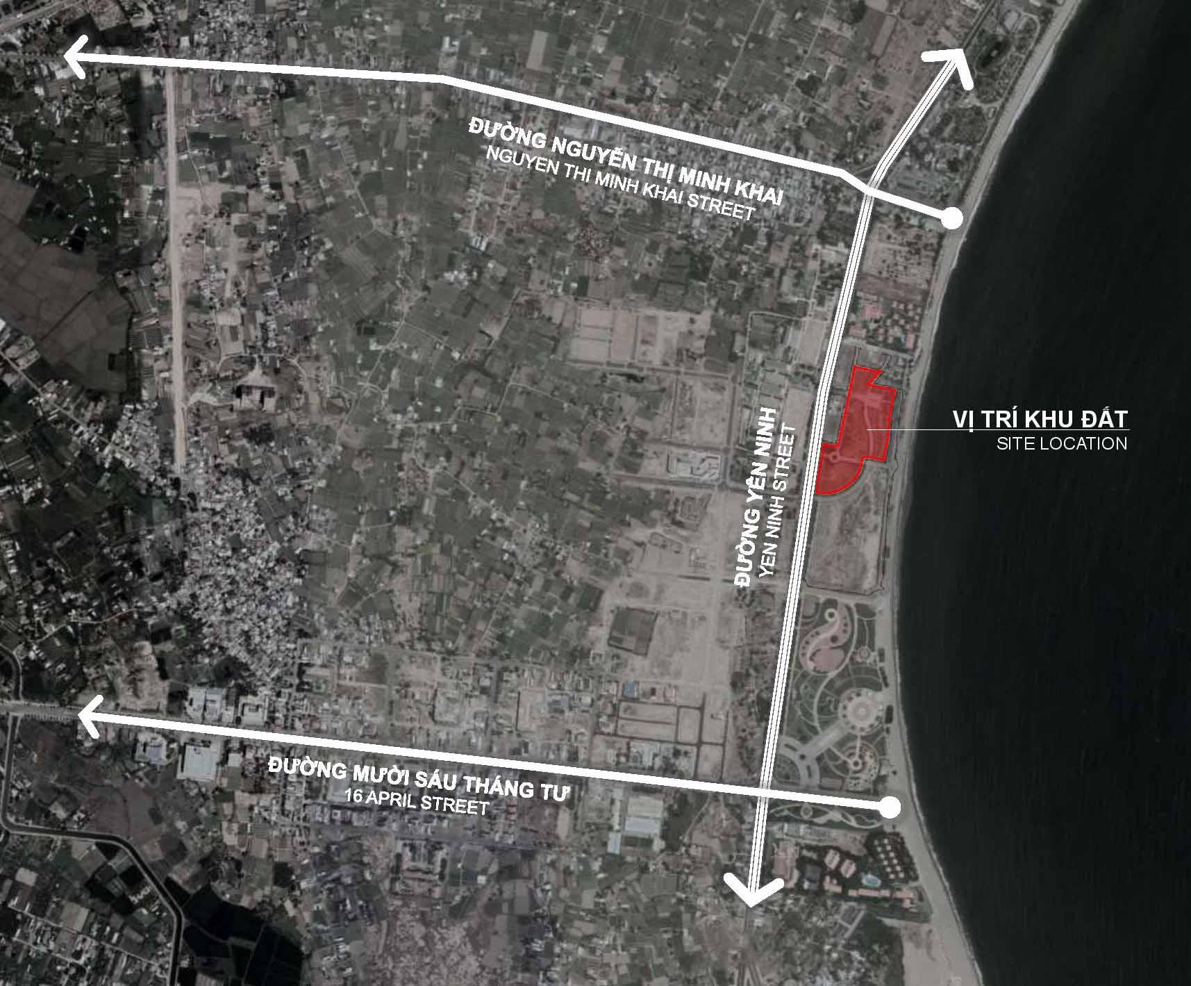 Vị trí đắc địa của dự án Sunbay Park Phan Rang Ninh Thuận